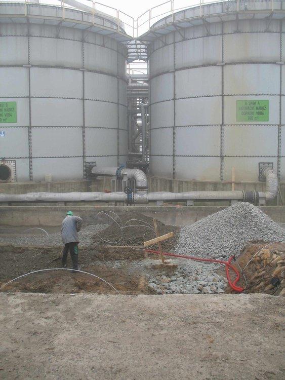 Reconstruction the biological reservoirs<br />Spolchemie Usti